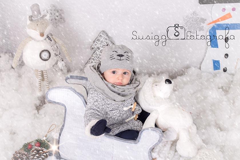 sesion fotográfica navideña invernal salamanca