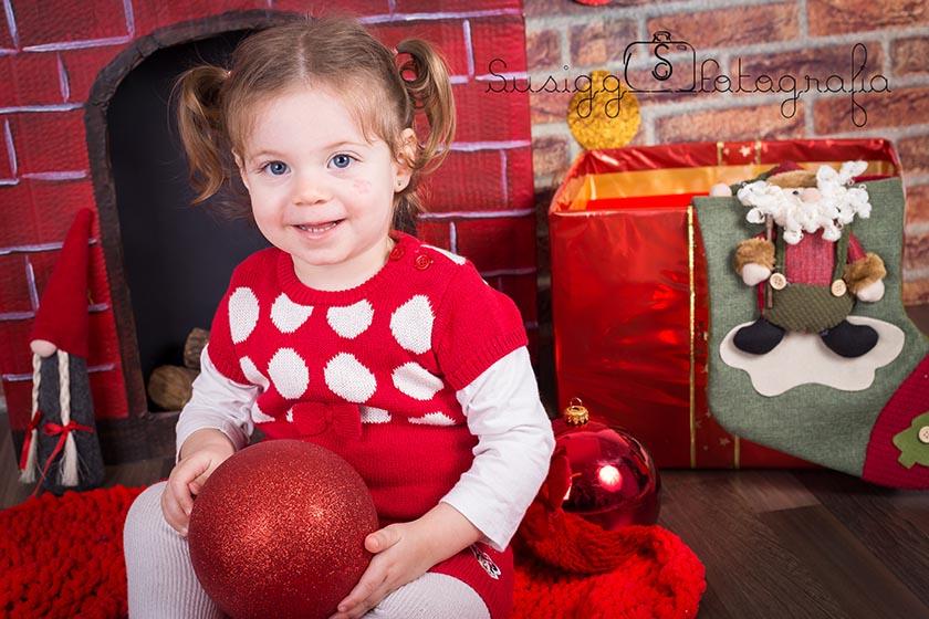 sesion fotografica navideña infantil salamanca