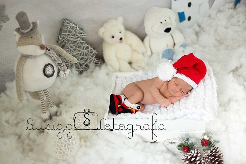 reportaje fotográfico recién nacido en salamanca