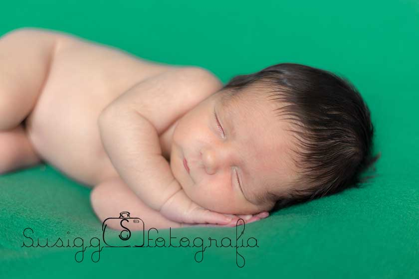 Sesión fotográfica Newborn diego Salamanca
