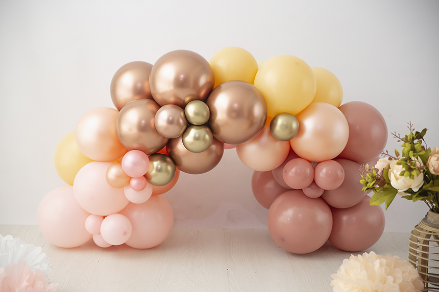 arco-globos-cupleaños-decoracion-salamanca